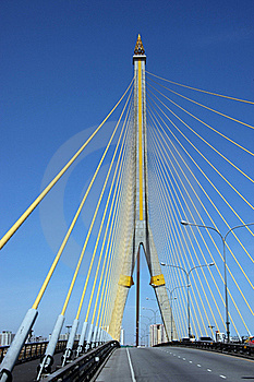 Rama 8 Bridge Stock Photo - Image: 16188260