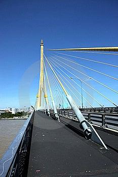 Rama 8 Bridge Royalty Free Stock Image - Image: 16188276