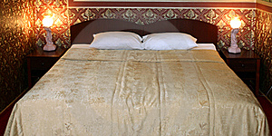 Bed Stock Photo - Image: 16188480