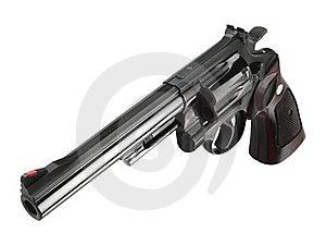 Smith Wesson 44 Black Royalty Free Stock Photos - Image: 16190308