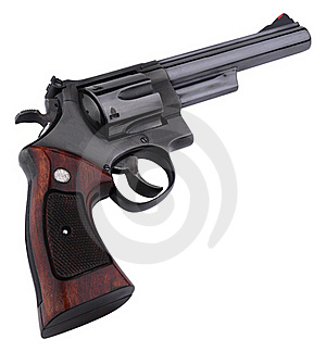 Smith Wesson 44 Black Stock Photography - Image: 16190322