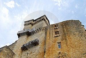 Castelnaud Castle Stock Images - Image: 16191494