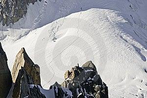 Views Of Mont-Blanc Royalty Free Stock Photo - Image: 16193795