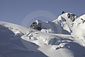 Views Of Mont-Blanc Royalty Free Stock Image - Image: 16193806
