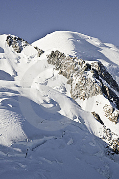 Views Of Mont-Blanc Stock Photo - Image: 16193820