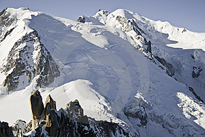 Views Of Mont-Blanc Stock Photography - Image: 16193922