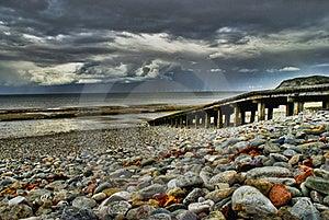 Coastal Breaker Stock Photo - Image: 16194560