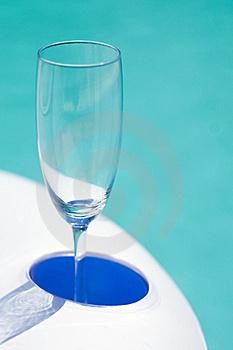 Empty Champagne Glass Stock Photos - Image: 16195453