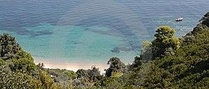 Beautiful Sea View In Skiathos Greece Royalty Free Stock Photos - Image: 16195898