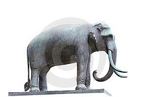 Elephant Statue Royalty Free Stock Image - Image: 16196776