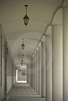 Colonnade Stock Image - Image: 16198231
