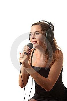 Singing Woman Stock Photo - Image: 16198540