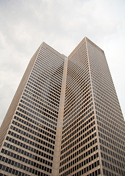 Twin Corporate Office Building Stock Photos - Image: 1626623
