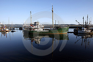 Historic Research Vessel Stock Image - Image: 1627431