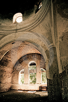 Old Church Indoors Royalty Free Stock Photo - Image: 16200995