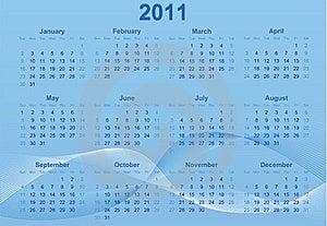 2011 Calendar. Stock Photography - Image: 16209242