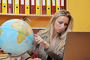 Business Woman Royalty Free Stock Photography - Image: 16209897