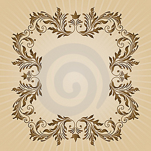 Vintage Floral Background Royalty Free Stock Photo - Image: 16210775
