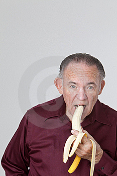 Eating Banana Royalty Free Stock Photos - Image: 16210878