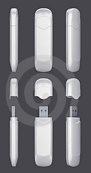 USB Modem Stock Photos - Image: 16214813
