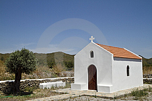 Greek Chapel Royalty Free Stock Photo - Image: 16215225