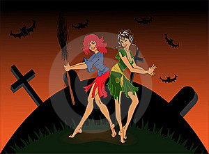 Witches Royalty Free Stock Photos - Image: 16216978