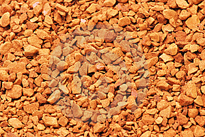 Close Up Of Coffee Granules  Stock Images - Image: 16217294