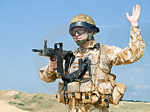 Royal Commando Stock Photo - Image: 16217630