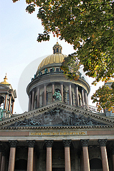 Cathedral Of St. Isaak Stock Photos - Image: 16219123