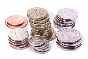 British Coins Stock Photo - Image: 16220010