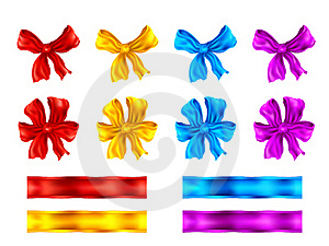 Bows And Ribbons Stock Photos - Image: 16223483