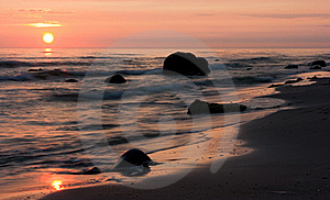 Sea And Stones Royalty Free Stock Photography - Image: 16223997
