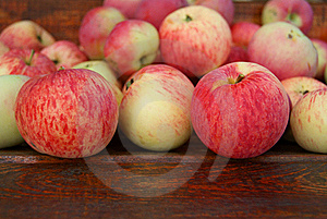 Striped Apples Stock Photo - Image: 16227140