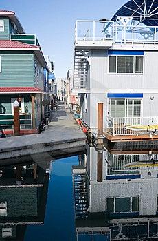 Float Homes Or Marina Village Royalty Free Stock Photos - Image: 16227148