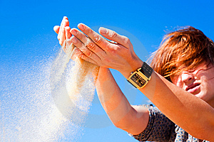 Sands Of Time Stock Images - Image: 16228044