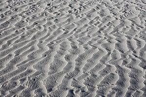 Texture Of White Sand Dunes Royalty Free Stock Photo - Image: 16234285