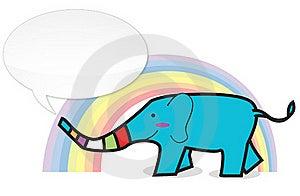 Happy Elephant Royalty Free Stock Photos - Image: 16234418