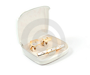 Cufflinks Stock Photo - Image: 16235090