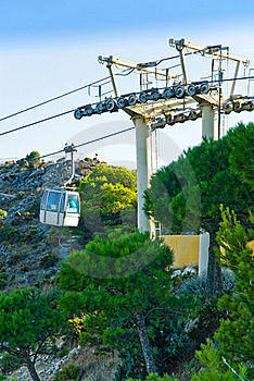Cable Car System Royalty Free Stock Image - Image: 16235286
