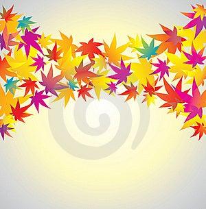 Autumn Background. Maple. Royalty Free Stock Photo - Image: 16235495