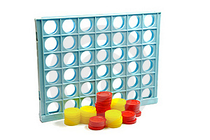 3D Tic Tac Toe Royalty Free Stock Image - Image: 16235496