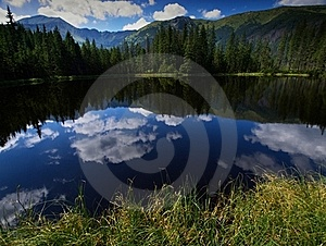 Lake In Tatry Stock Photography - Image: 16235822