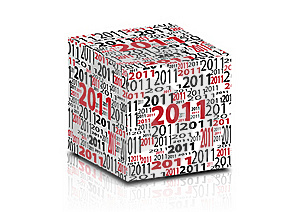 2011 Cube Stock Photos - Image: 16236793