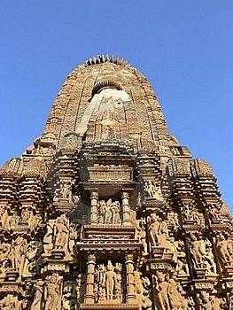 Khajuraho Temple Stock Photography - Image: 16242172
