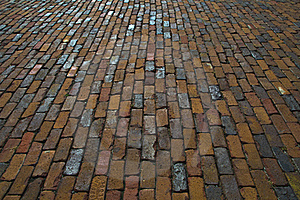 Brick Pavement Texture Royalty Free Stock Photography - Image: 16242857