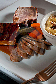 Trio Of Pork Royalty Free Stock Images - Image: 16242899