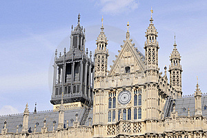 Towers Of Houses Of Parliament Royalty Free Stock Photography - Image: 16244667