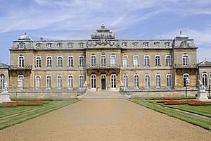 Wrest Houses In Summer Royalty Free Stock Photography - Image: 16244777