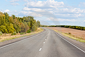 Turn On Highway Royalty Free Stock Photo - Image: 16248185