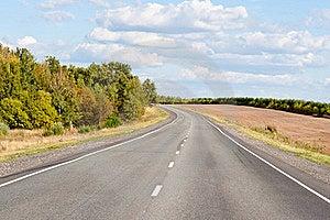 Turn On Highway Royalty Free Stock Photo - Image: 16248185
